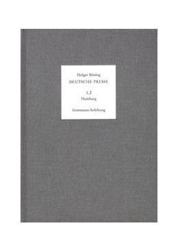 Abbildung von Böning / Moepps   Deutsche Presse / Band 1.2: Hamburg. 1766-1795   1996   Von 1766-1795