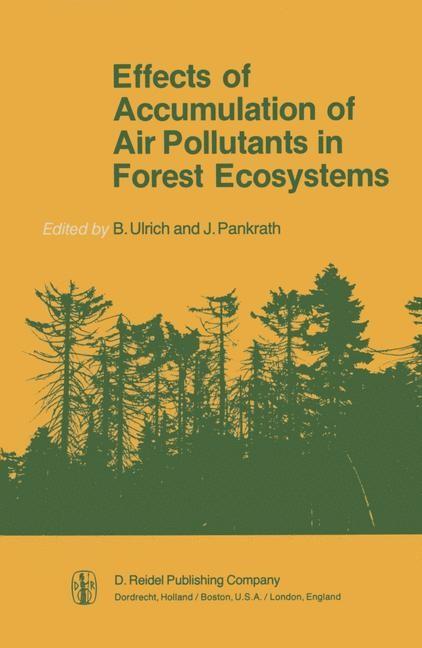 Abbildung von Ulrich / Pankrath   Effects of Accumulation of Air Pollutants in Forest Ecosystems   1983