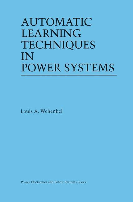 Abbildung von Wehenkel | Automatic Learning Techniques in Power Systems | 1997