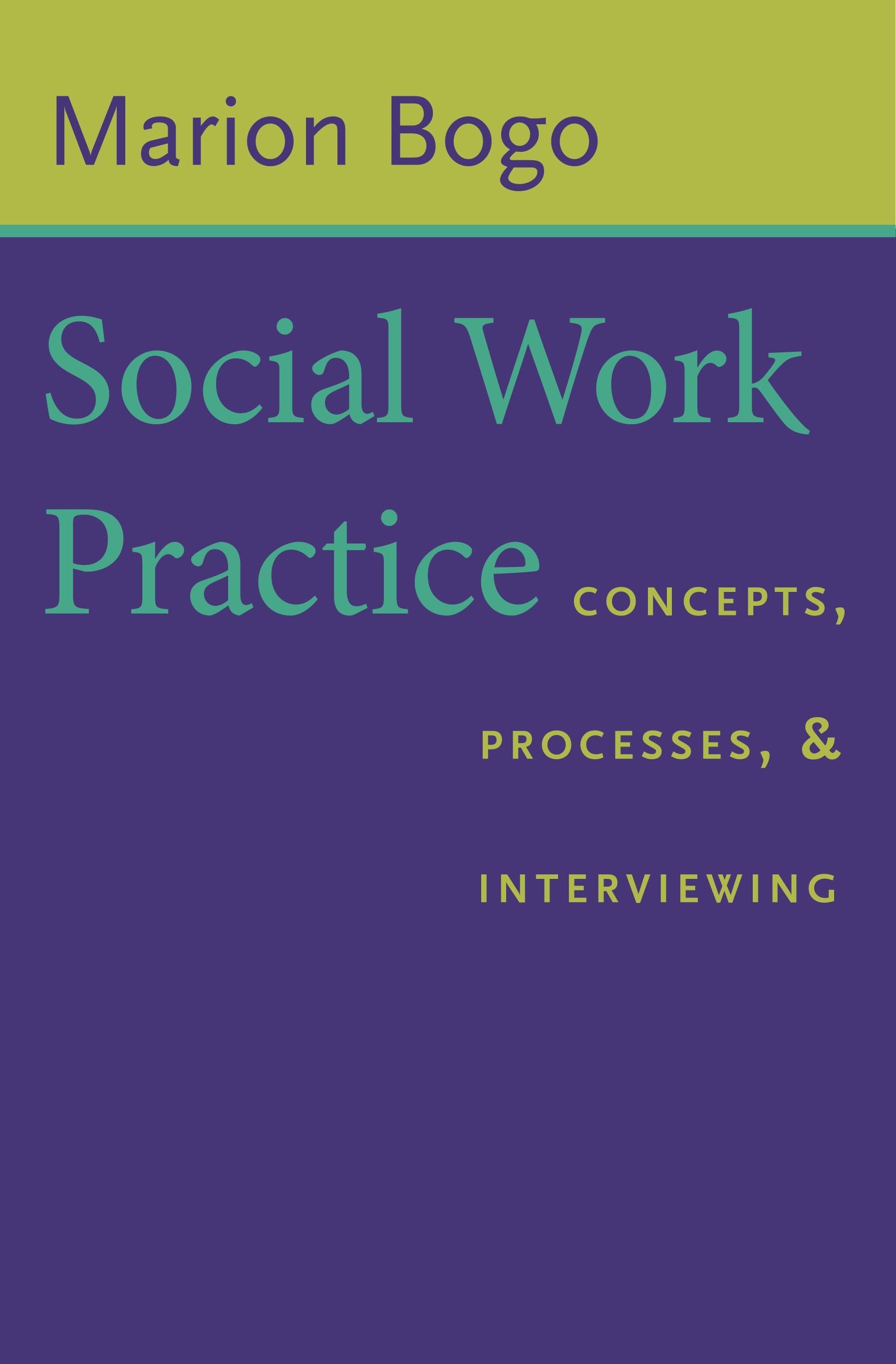 Abbildung von Bogo | Social Work Practice | 2006