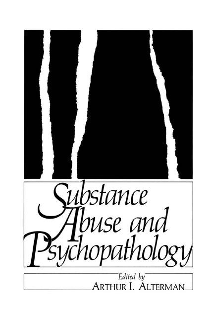 Abbildung von Alterman | Substance Abuse and Psychopathology | 1985