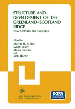 Abbildung von Bott / Saxov / Talwani | Structure and Development of the Greenland-Scotland Ridge | 1983 | New Methods and Concepts