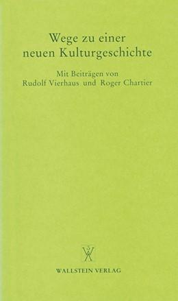 Abbildung von Lehmann | Wege zu einer neuen Kulturgeschichte | 1995 | 1