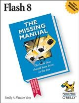 Flash 8: The Missing Manual | E. A. Vander Veer, 2006 | Buch (Cover)