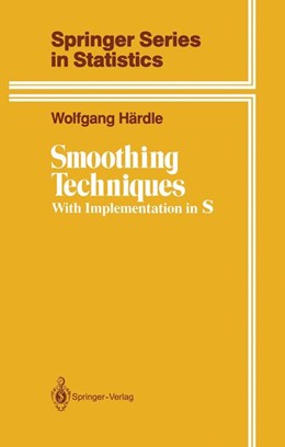 Abbildung von Härdle | Smoothing Techniques | 1990 | With Implementation in S
