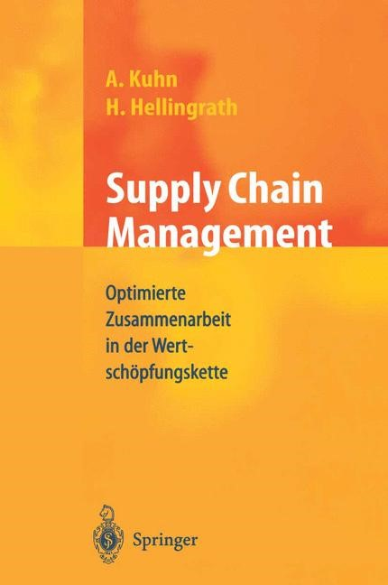Abbildung von Hellingrath / Kuhn | Supply Chain Management | 2002