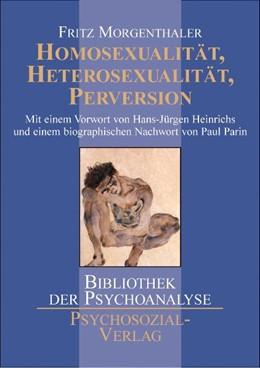 Abbildung von Morgenthaler | Homosexualität, Heterosexualität, Perversion | 2004