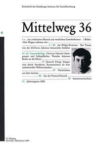 Abbildung von Adorno | 2003
