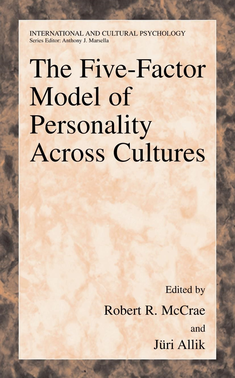 Abbildung von McCrae / Allik | The Five-Factor Model of Personality Across Cultures | 2002