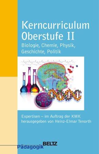 Abbildung von Tenorth / KMK | Kerncurriculum Oberstufe II | 2004