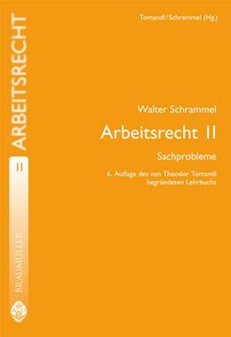 Abbildung von Schrammel | Arbeitsrecht II | 6., überarb. U. erw. Aufl. | 2008 | Sachprobleme