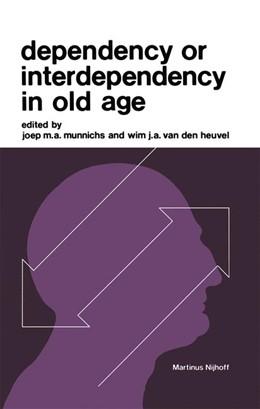 Abbildung von Munnichs / van den Heuvel | Dependency or Interdependency in Old Age | 1976