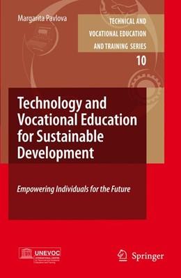 Abbildung von Pavlova | Technology and Vocational Education for Sustainable Development | 2009