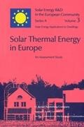 Abbildung von Turrent / Baker / Steemers / Palz | Solar Thermal Energy in Europe An Assessment Study | 1983