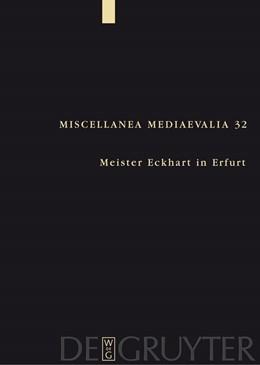 Abbildung von Speer / Wegener | Meister Eckhart in Erfurt | 2005 | 32
