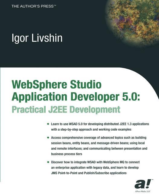 WebSphere Studio Application Developer 5.0 | Livshin | Softcover reprint of the original 1st ed., 2003 | Buch (Cover)