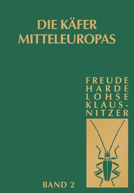 Käfer Mitteleuropas, Bd. 2: Adephaga I: Carabidae   Müller-Motzfeld   2. Aufl. 2004. Korr. Nachdruck, 2011   Buch (Cover)