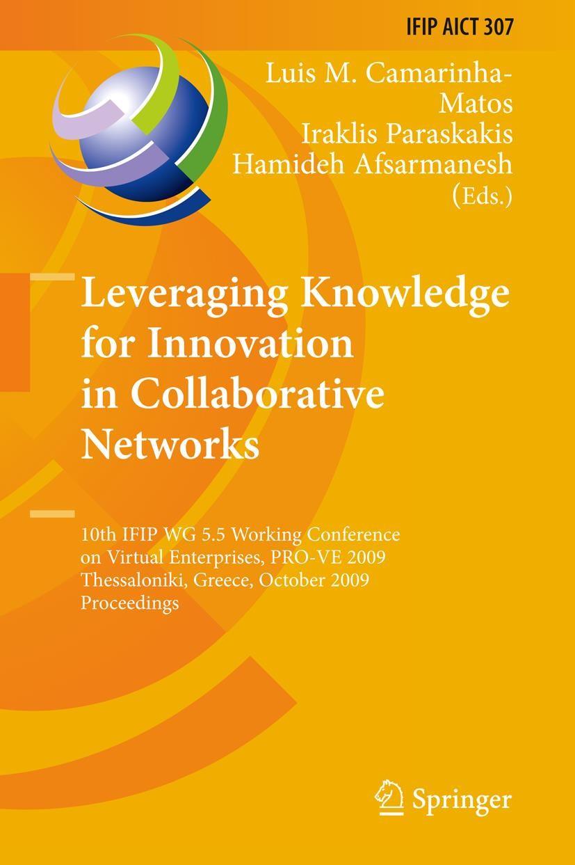 Abbildung von Camarinha-Matos / Paraskakis / Afsarmanesh | Leveraging Knowledge for Innovation in Collaborative Networks | 2009