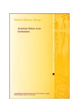 Abbildung von Dierse   Joachim Ritter zum Gedenken   2004