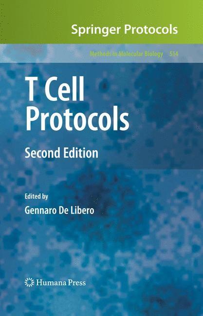 Abbildung von De Libero | T Cell Protocols | 2nd ed. | 2008