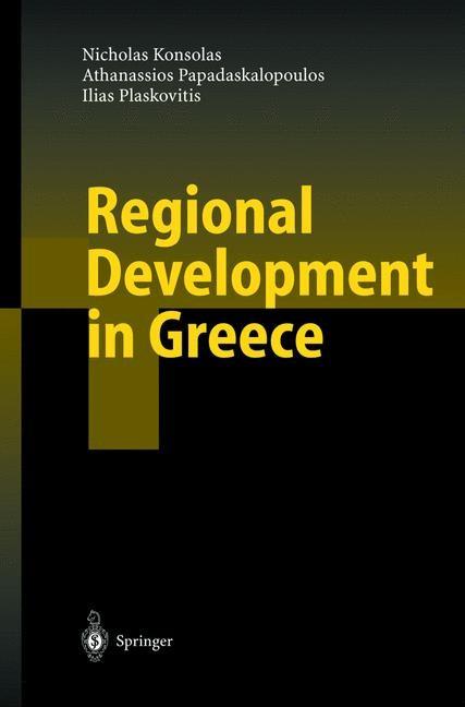 Abbildung von Konsolas / Papadaskalopoulos / Plaskovitis | Regional Development in Greece | 2002