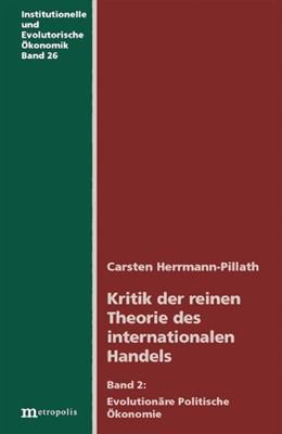 Abbildung von Kritik der reinen Theorie des internationalen Handels | 2004 | Evolutionäre Politische Ökonom... | 25