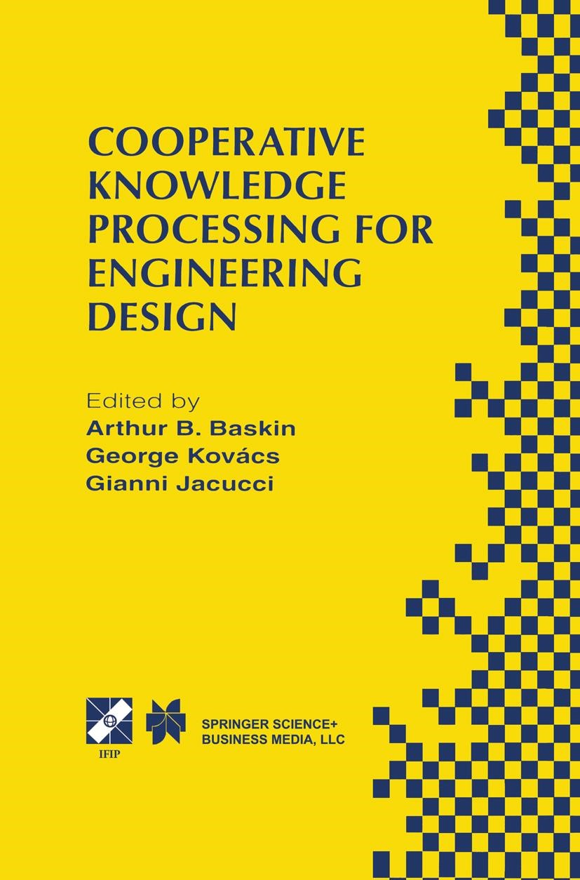 Abbildung von Baskin / Kovacs / Jacucci | Cooperative Knowledge Processing for Engineering Design | 1998