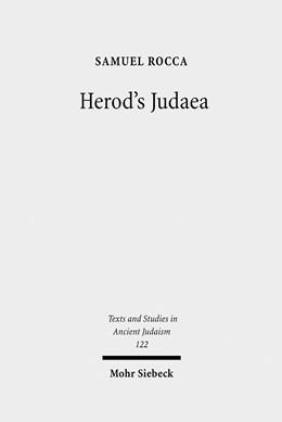 Abbildung von Rocca | Herod's Judaea | 1., Aufl. | 2008 | A Mediterranean State in the C... | 122
