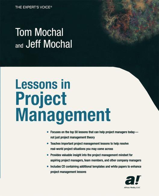Abbildung von Mochal | Lessons in Project Management | 1st ed. | 2003