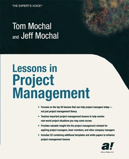 Abbildung von Mochal | Lessons in Project Management | 1st ed. | 2003