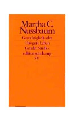 Abbildung von Nussbaum / Pauer-Studer | Gerechtigkeit oder Das gute Leben | 1998 | 1739
