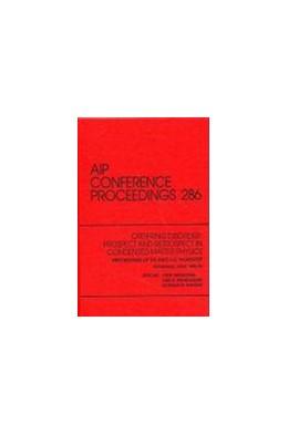 Abbildung von Srivastava / Bhatnagar / Naugle | Ordering Disorder: Prospect and Retrospect in Condensed Matter Physics | 1993 | Proceedings of the Indo-U.S. W... | 286