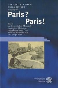 Paris? Paris!   Kaiser / Tunner, 2002   Buch (Cover)