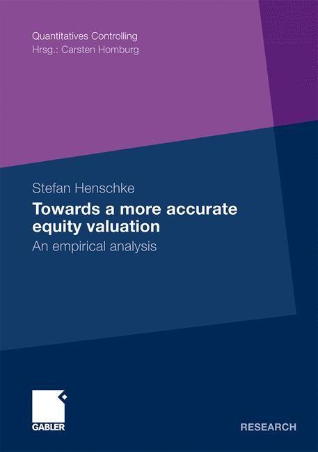 Abbildung von Henschke | Towards a more accurate equity valuation | 2009