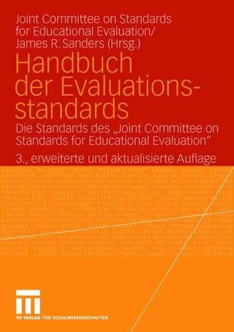 Abbildung von Sanders | Handbuch der Evaluationsstandards | 3., erw. und akt. | 2006