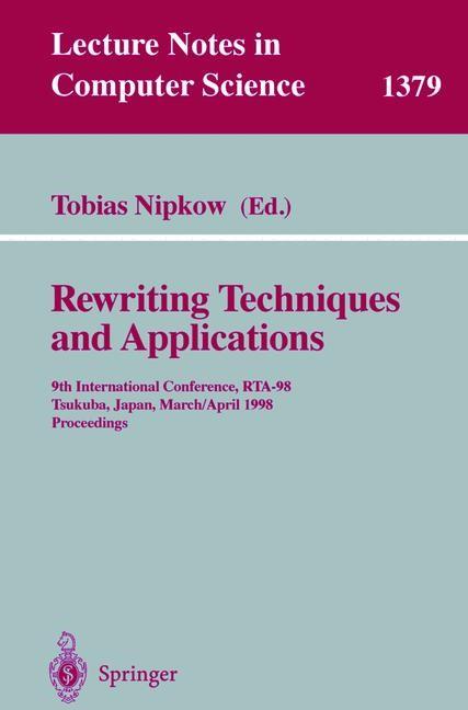 Abbildung von Nipkow   Rewriting Techniques and Applications   1998