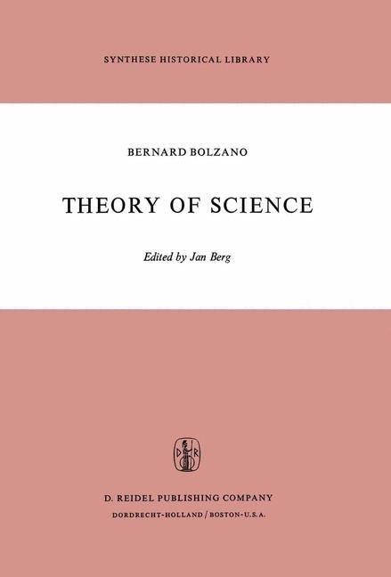Abbildung von Bolzano / Berg | Theory of Science | 1973