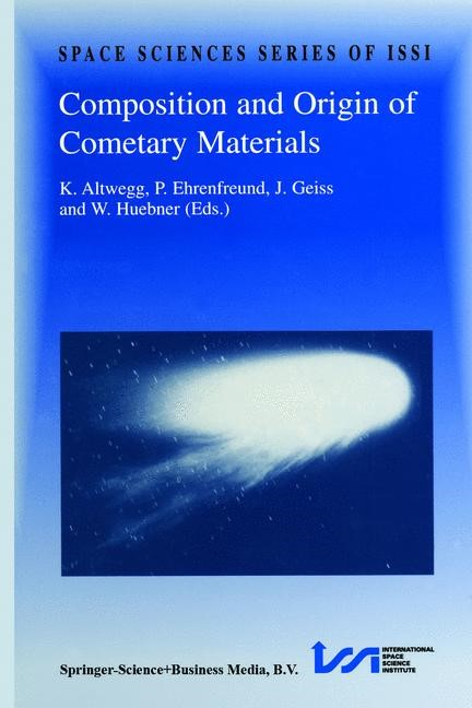 Abbildung von Altwegg / Ehrenfreund / Geiss | Composition and Origin of Cometary Materials | Reprinted from Space Science Reviews, Vol. 90/1-2 | 2000