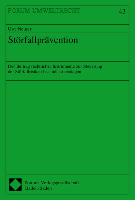 Abbildung von Störfallprävention   2002