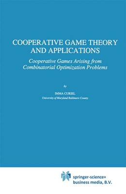 Abbildung von Curiel | Cooperative Game Theory and Applications | 1997 | Cooperative Games Arising from... | 16