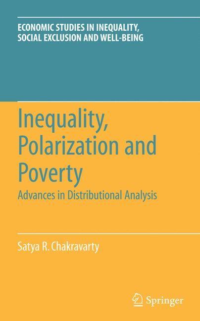 Abbildung von Chakravarty | Inequality, Polarization and Poverty | 2009