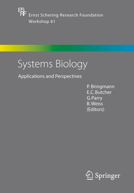 Abbildung von Bringmann / Butcher / Parry / Weiss | Systems Biology | 2006