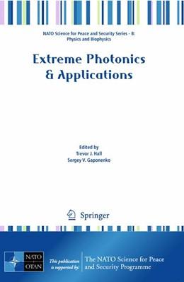 Abbildung von Hall / Gaponenko | Extreme Photonics & Applications | 2009