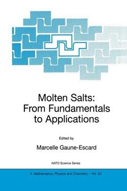 Abbildung von Gaune-Escard | Molten Salts | 2002