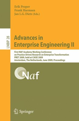 Abbildung von Proper / Harmsen / Dietz | Advances in Enterprise Engineering II | 2009 | First NAF Academy Working Conf... | 28