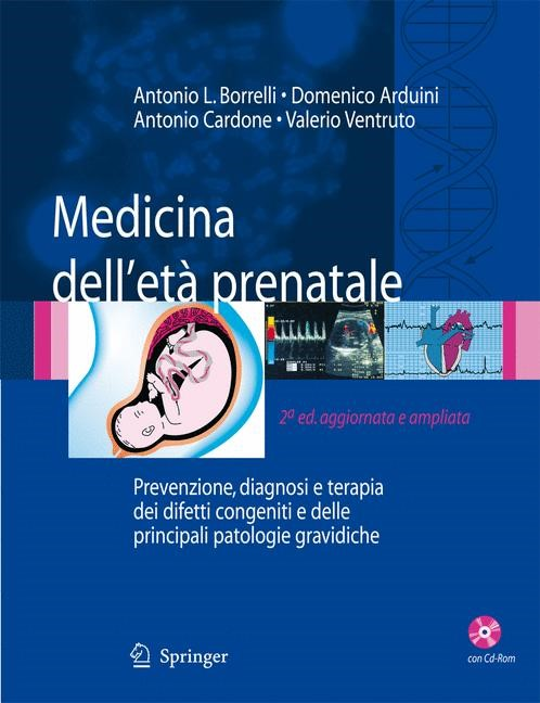 Medicina dell'étà prenatale | Borrelli / Arduini / Cardone | 2a ed, aggiornata e ampliata., 2007 | Buch (Cover)