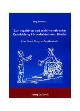 Abbildung von Reichert | Zur kognitiven und sozial-emotionalen Entwicklung körperbehinderter Kinder | 2003 | Eine Entwicklungsverlaufskontr... | 27