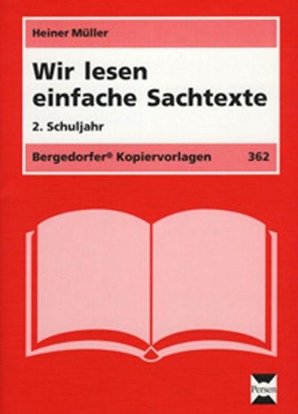 Wir lesen einfache Sachtexte - 2. Schuljahr | Müller, 2005 | Buch (Cover)