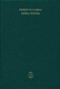 Abbildung von Steffan / Imbach / Pagnoni-Sturlese / Sturlese / Flasch | Opera omnia / Schriften zur Metaphysik und Theologie | 1980