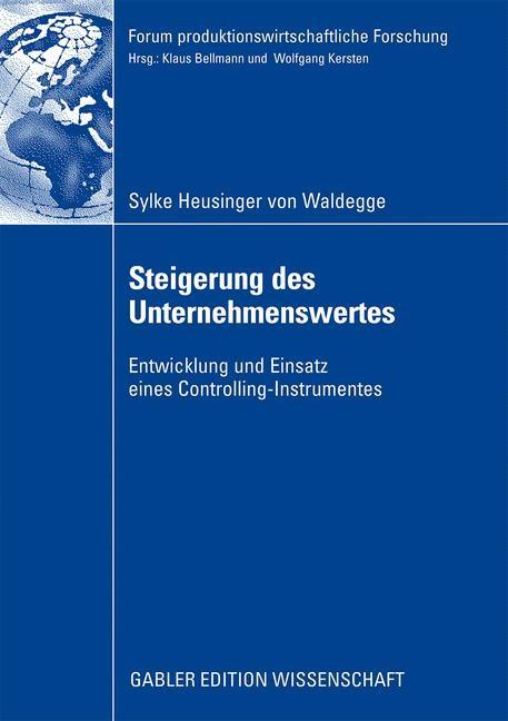 Abbildung von Heusinger von Waldegge   Steigerung des Unternehmenswertes   2009